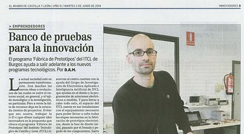 El ITCL persigue el futuro desde Burgos con la fábrica de prototipos