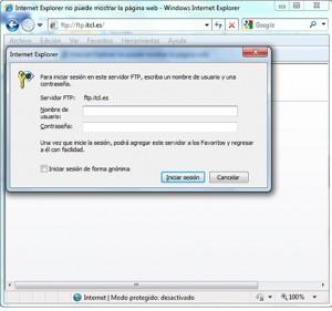 Instrucciones FTP ITCL