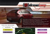 Simulador de conducción para autoescuelas