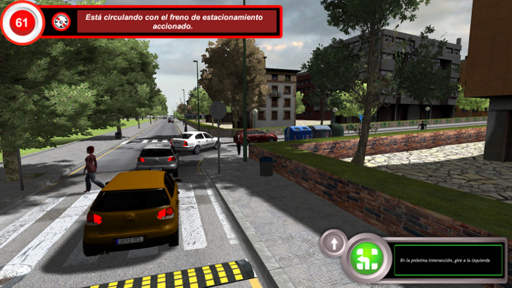 Driving simulator for driving schools ITCL