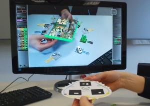 juego de realidad aumentada 3D
