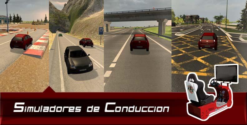 simuladores de conducción para vehículos especiales