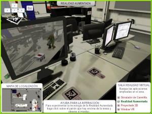 Visita virtual realidad aumentada laboratorio