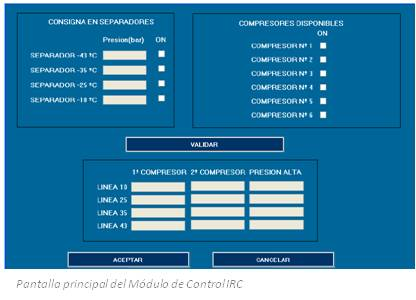 IRC Control Refrigeración Industrial, control de matadero cárnico