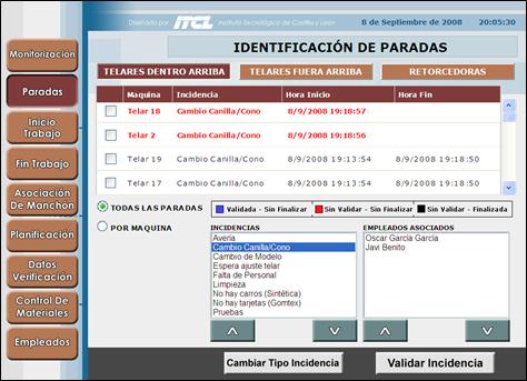 Panel de Operador SICP