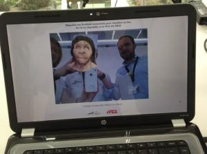 Realidad aumentada interacción museo Miguelón MEH ITCL