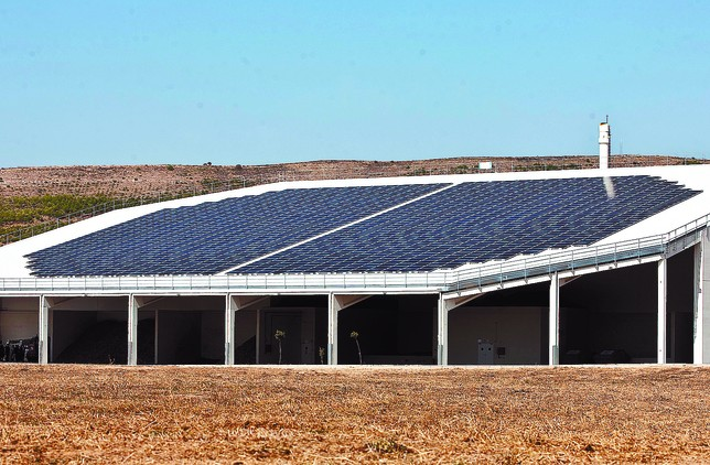Red de biomasa soterrada para Villalonquéjar