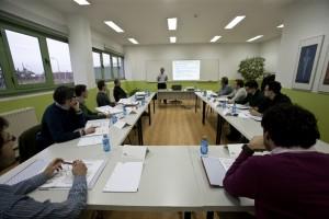 Jornada inaugural del máster en Dirección de Operaciones. Foto: Diario de Burgos.