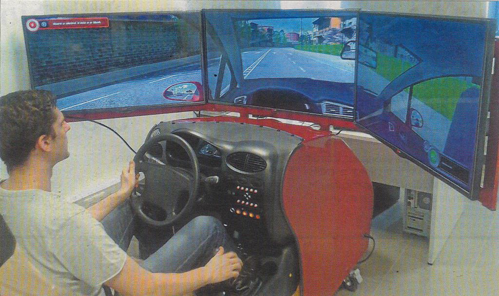 Aquaplaning de salon simulador de conducci n itcl - Simulador de salones ...