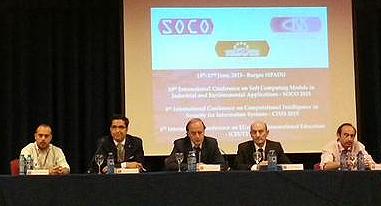 Inauguracion del congreso internacional SOCO'15