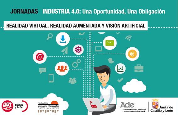 industria 4.0 una oportunidad una obligación Realidad Aumentada Realidad Virtual Visión Artificial