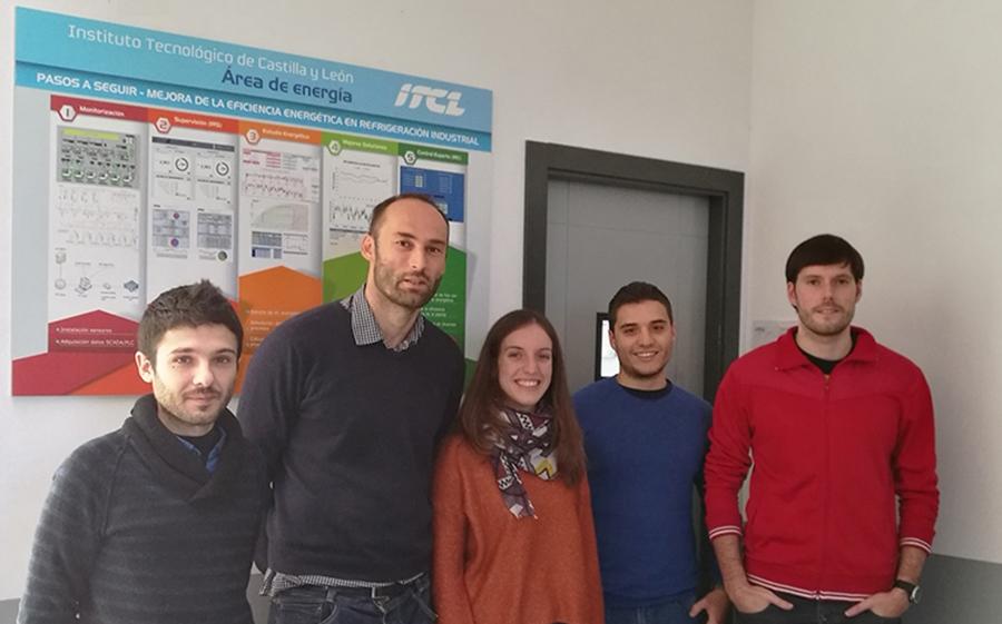 equipo I+D ITCL energía