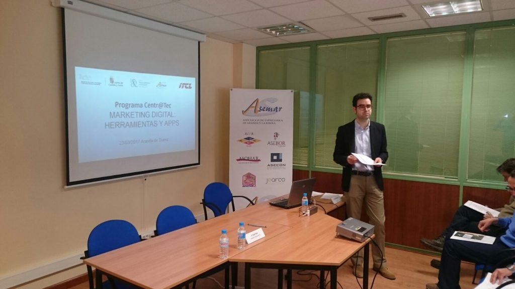 Jornada de Marketing Digital en Aranda de Duero – Centr@Tec