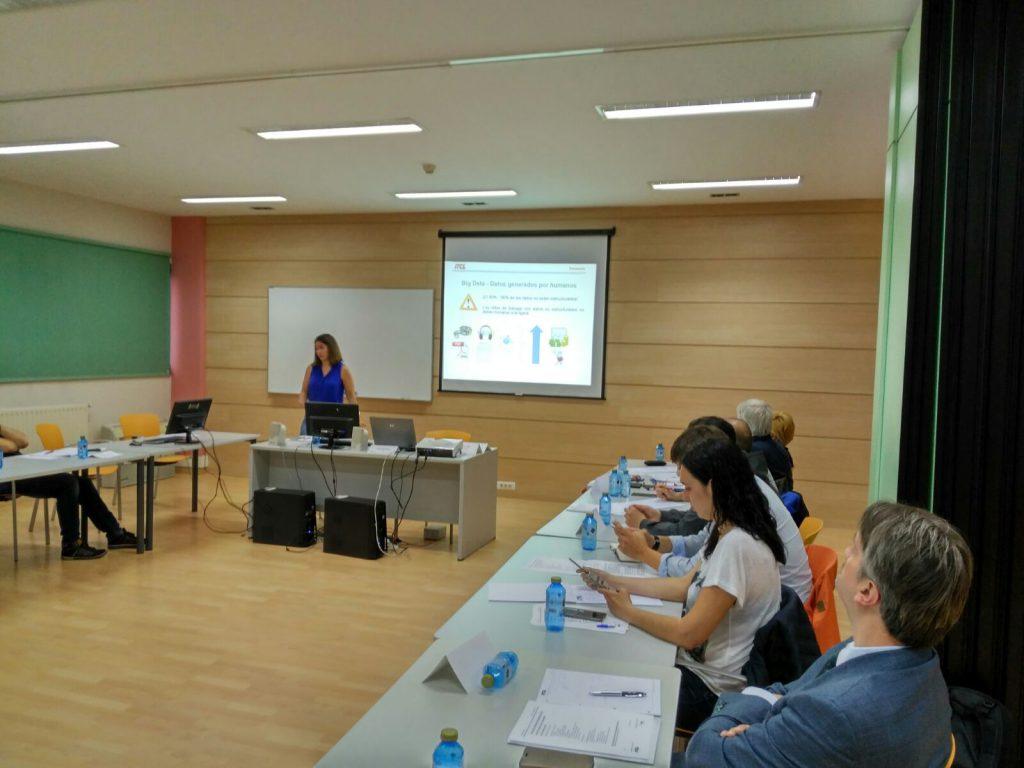 Silvia González de ITCL nos muestra los proyectos de ITCL en BigData