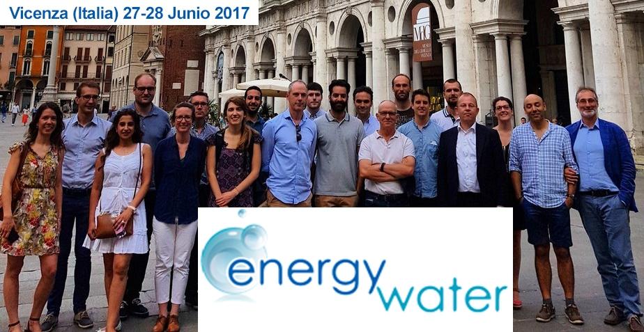 ITCL viaja a Vicenza por el proyecto EnergyWater
