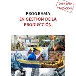 Programa en gestión de la producción ITCL