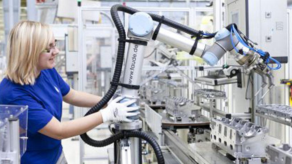 cobots robots colaborativos