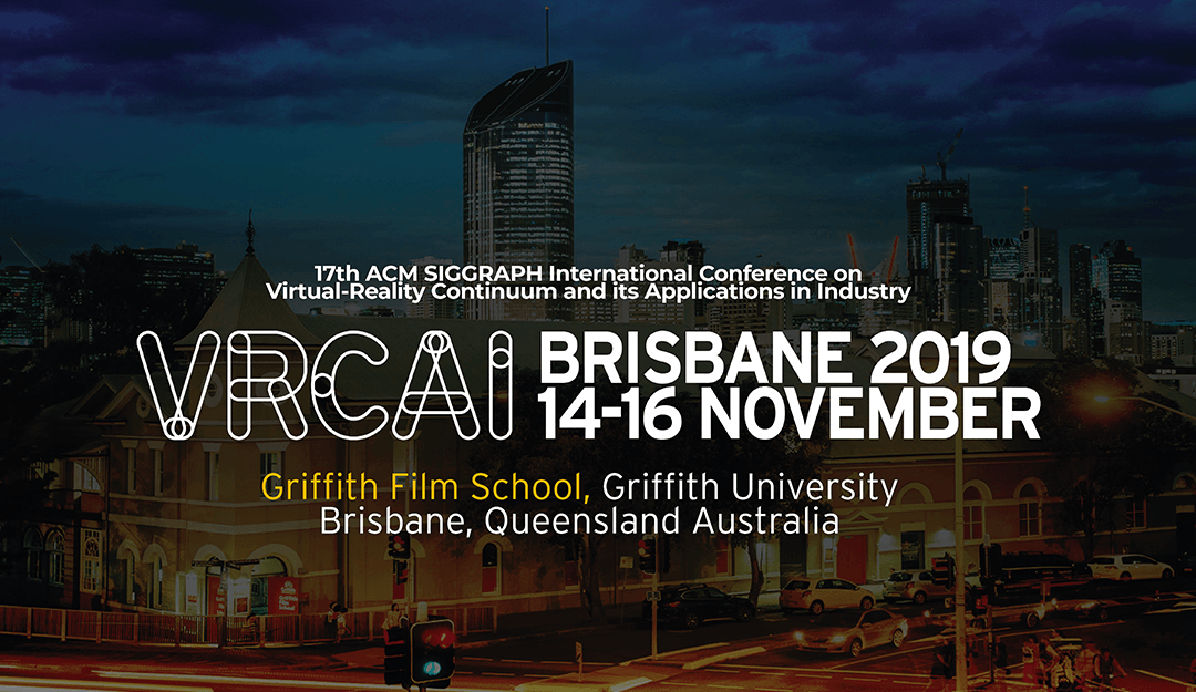 ITCL Technology Centre will be present at VRCAI 2019 in Australia