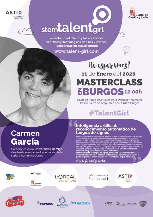 talent girl Carmen Garcia