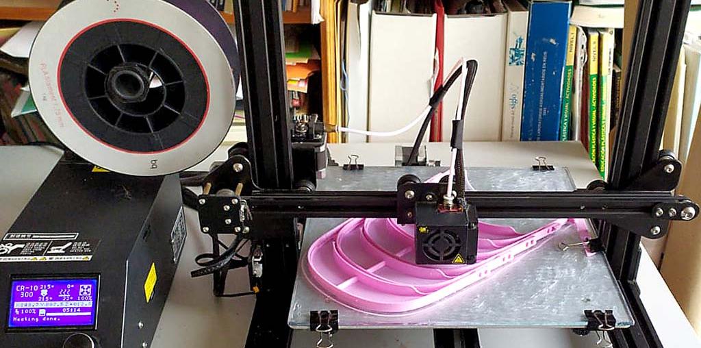 Impresoras 3D hacen frente al coronavirus