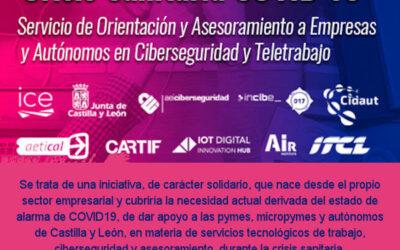 Asesoramiento a pymes y autónomos en ciberseguridad  y teletrabajo