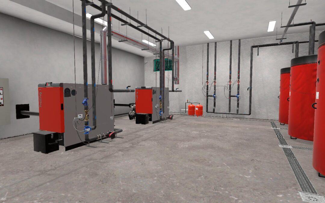 Realidad Virtual para el mantenimiento industrial