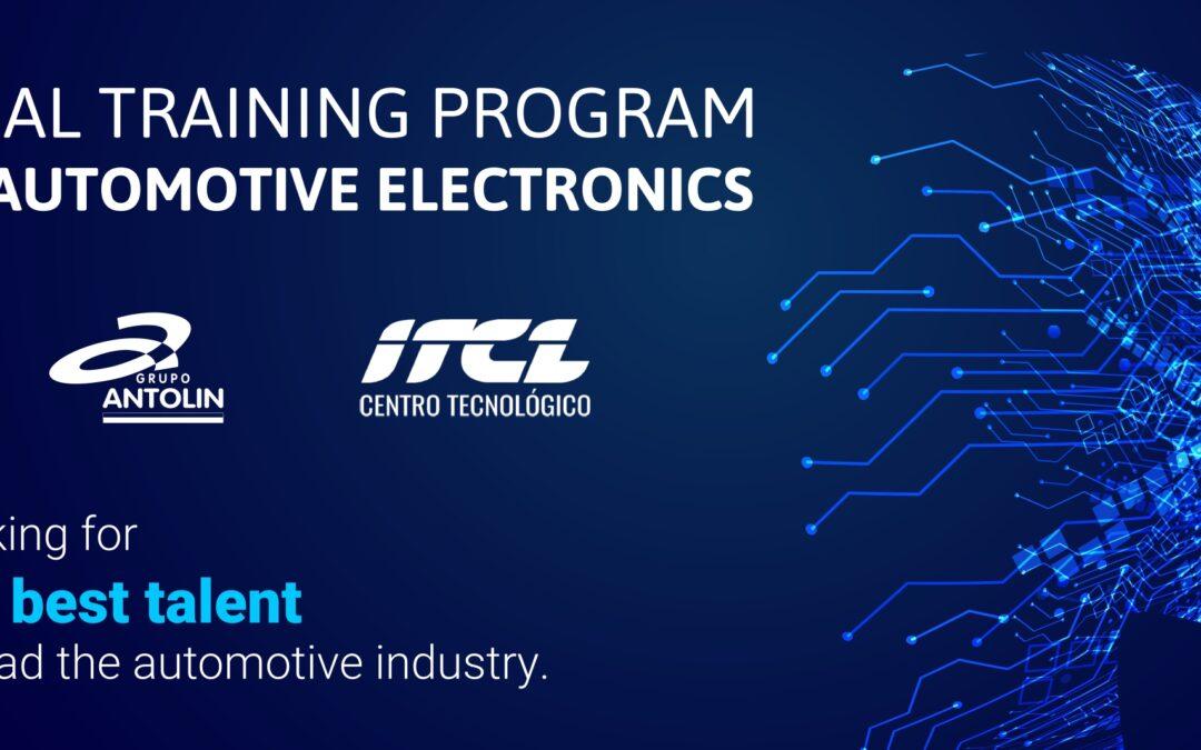Grupo Antolin se alía con ITCL para formar a sus nuevos ingenieros en electrónica