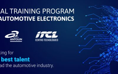 Grupo Antolin partners with ITCL to train its new electronic engineers