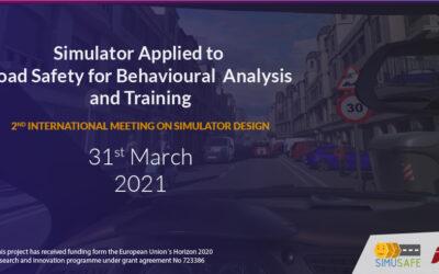 Un workshop internacional analizará el 31 de marzo los avances de 'Simusafe'